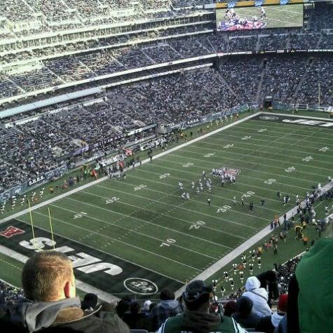 รูปภาพถ่ายที่ MetLife Stadium โดย Juan Manuel I. เมื่อ 12/23/2012