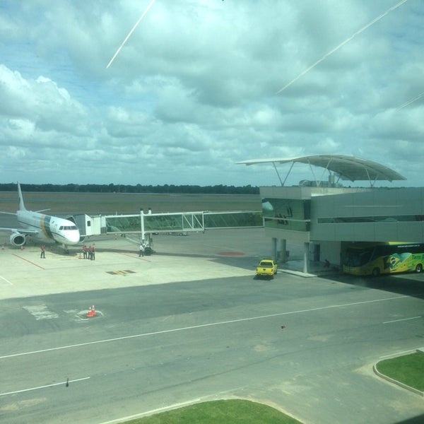Снимок сделан в Aeroporto Internacional de Natal / São Gonçalo do Amarante (NAT) пользователем Sebastiao V. 6/4/2014