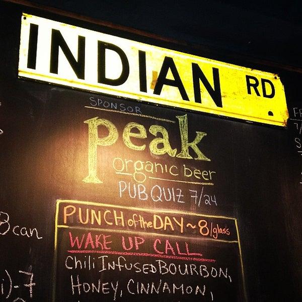 Das Foto wurde bei Indian Road Café von Zach Peak P. am 7/25/2013 aufgenommen