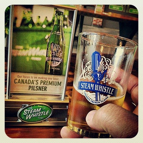 10/14/2012 tarihinde Dean S.ziyaretçi tarafından Steam Whistle Brewing'de çekilen fotoğraf