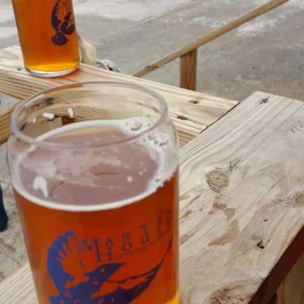 Photo taken at Martin House Brewing Company by Matthew H. on 3/21/2015