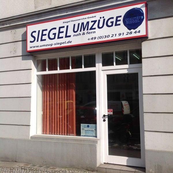 Photos At Siegel Umzuge Alt Tempelhof Manteuffelstrasse 50