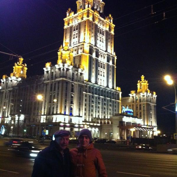 Foto scattata a Radisson Royal Hotel da Сергей М. il 2/25/2013