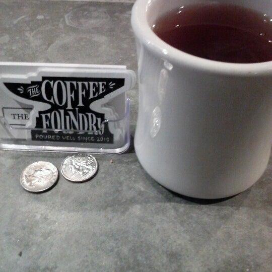 Das Foto wurde bei Coffee Foundry von Justin am 1/7/2013 aufgenommen