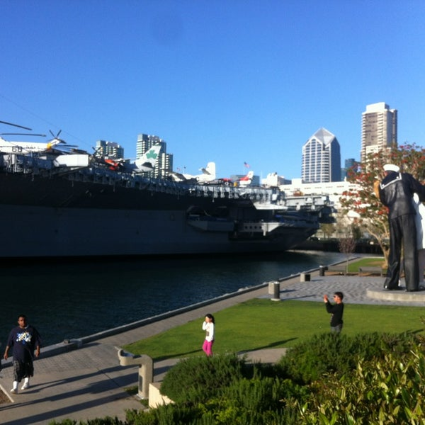 Photo taken at USS Midway Museum by YJ C. on 4/10/2013