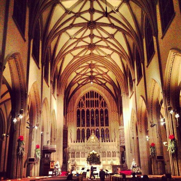 Foto scattata a Trinity Church da Anna C. il 12/27/2012