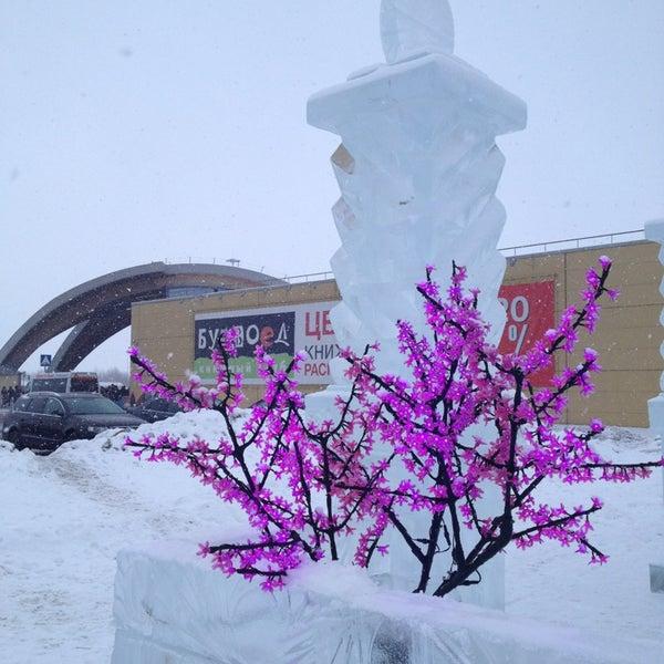 Снимок сделан в ТРК «Северный Молл» пользователем Евгения🐎 2/7/2013