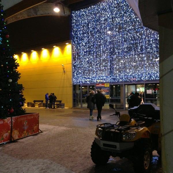 Снимок сделан в ТРК «Северный Молл» пользователем Frosya) 12/27/2012