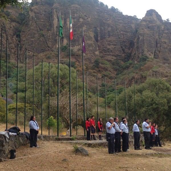 รูปภาพถ่ายที่ Campo Escuela Scout Meztitla โดย Filatetes A. เมื่อ 3/14/2015
