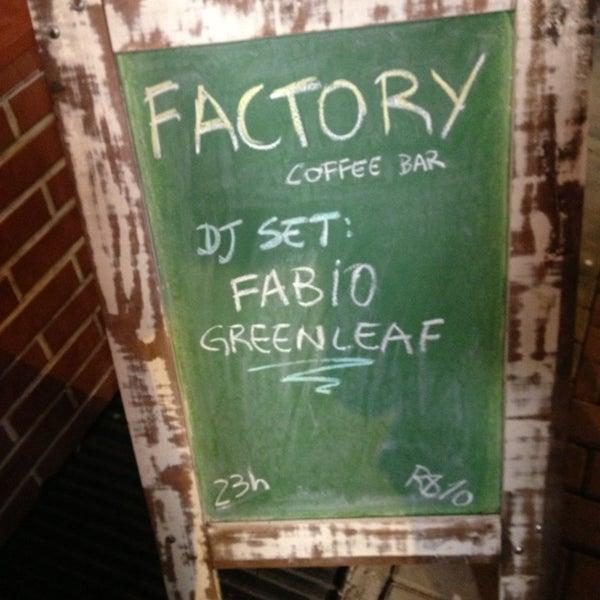 Foto tomada en Factory Coffee Bar por Guilherme H. el 2/9/2013