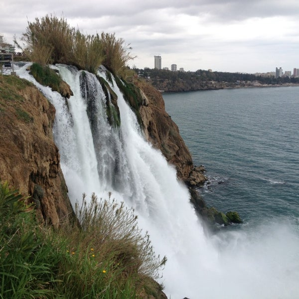 3/10/2013 tarihinde Engin T.ziyaretçi tarafından Düden Şelalesi'de çekilen fotoğraf