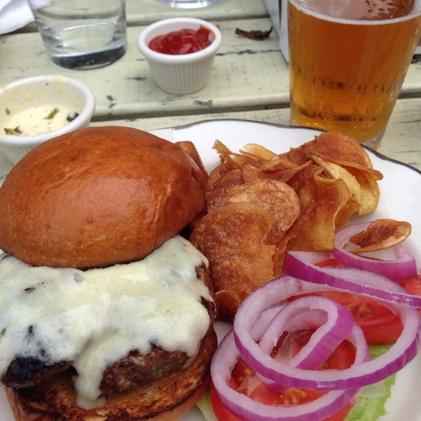A sneaky great burger. Grab the fried brussel sprouts also.