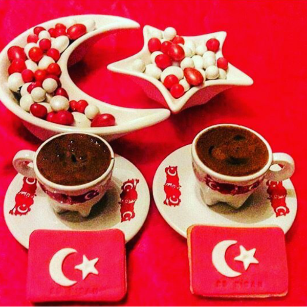 Открытка с добрым утром мужчине на турецком, днем