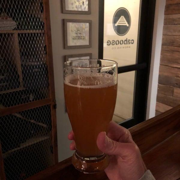 4/21/2018에 Chris J.님이 Caboose Brewing Company에서 찍은 사진