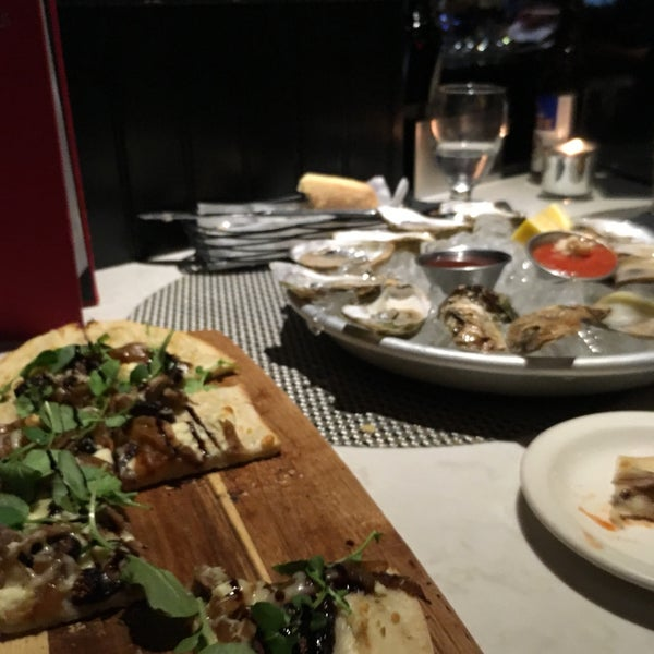 $1 oysters in evenings 5-7pm on certain day of the week I believe!