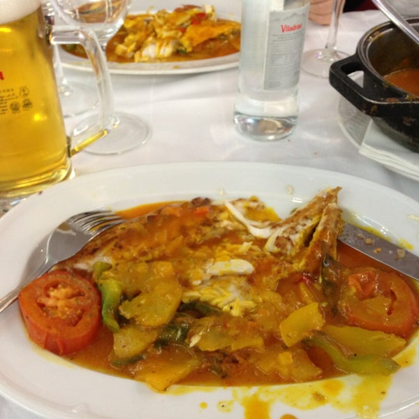 Das Foto wurde bei Restaurante Salamanca von Arshak A. am 12/29/2012 aufgenommen