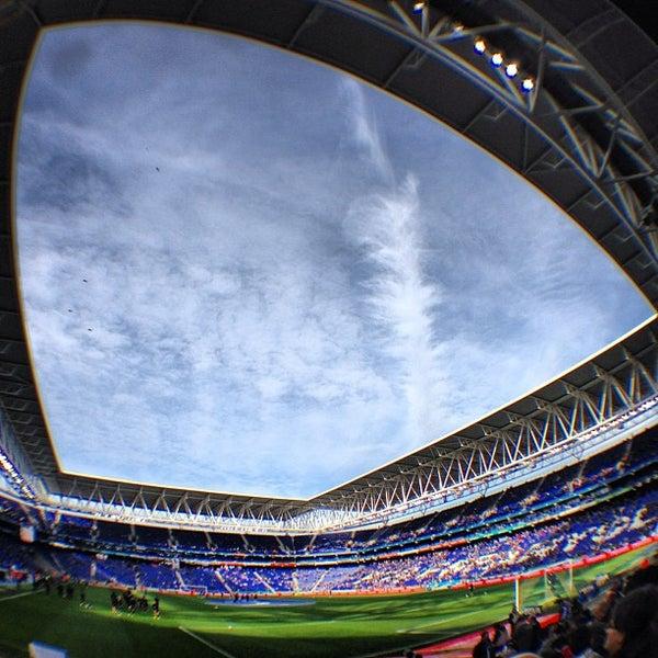 Foto diambil di RCDE Stadium oleh Josep O. pada 3/3/2013