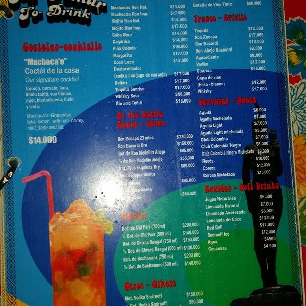 Precios de bebidas 2015
