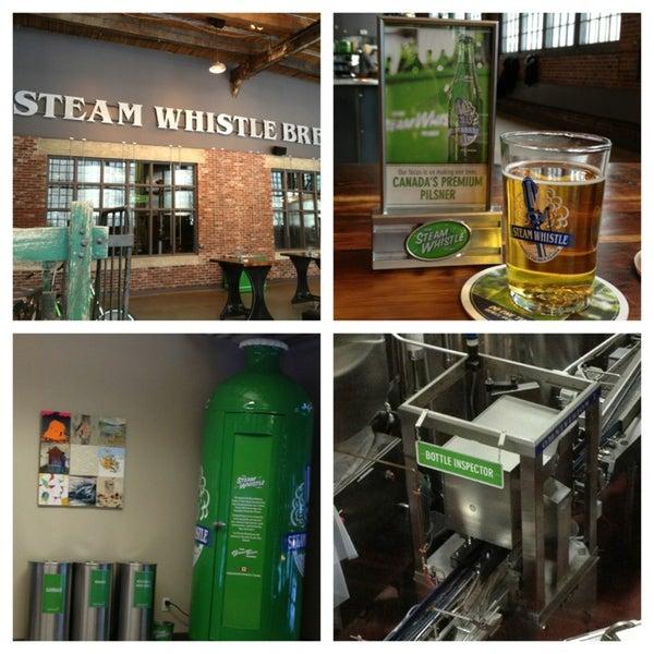 1/5/2013 tarihinde Travis M.ziyaretçi tarafından Steam Whistle Brewing'de çekilen fotoğraf