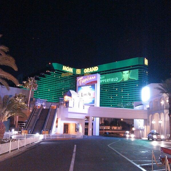 Снимок сделан в Tropicana Las Vegas пользователем Ahmet M. 2/21/2013