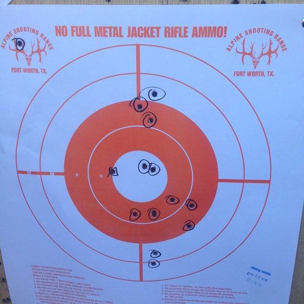 Photos at Alpine Shooting Range - Gun Range in Fort Worth