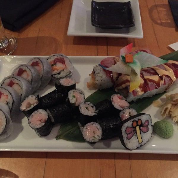 Das Foto wurde bei Mura Japanese Restaurant von Ellen am 12/10/2014 aufgenommen