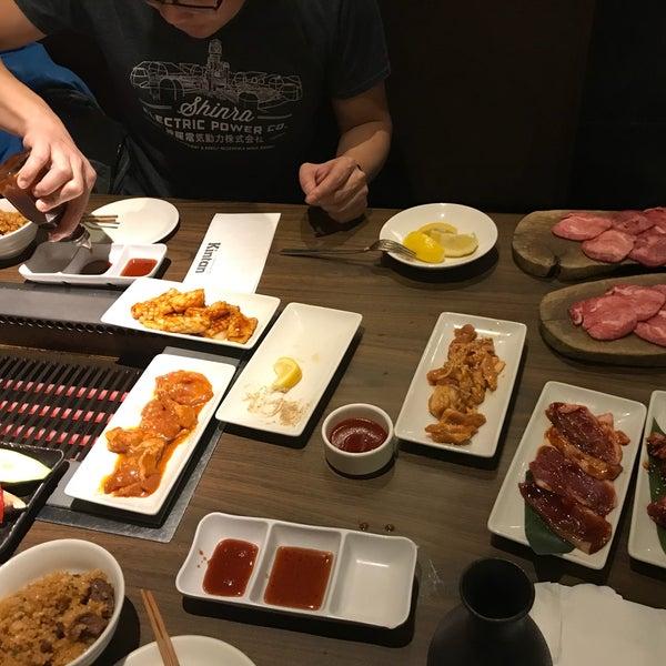 Photo prise au Kintan Japanese BBQ par Fiona le2/16/2018