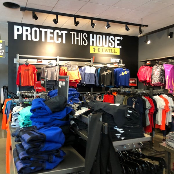Photo taken at Under Armour Factory House by David B. on 10 13  137bf18471ae