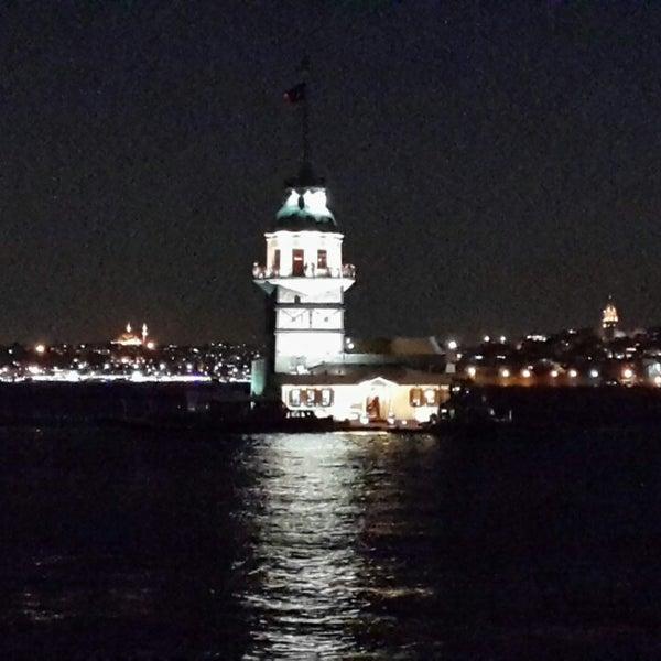 7/24/2013 tarihinde Can Ş.ziyaretçi tarafından Kız Kulesi'de çekilen fotoğraf