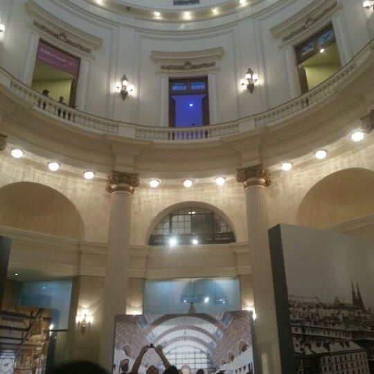 Photo taken at Centro Cultural Banco do Brasil (CCBB) by Guilherme A. on 1/3/2013