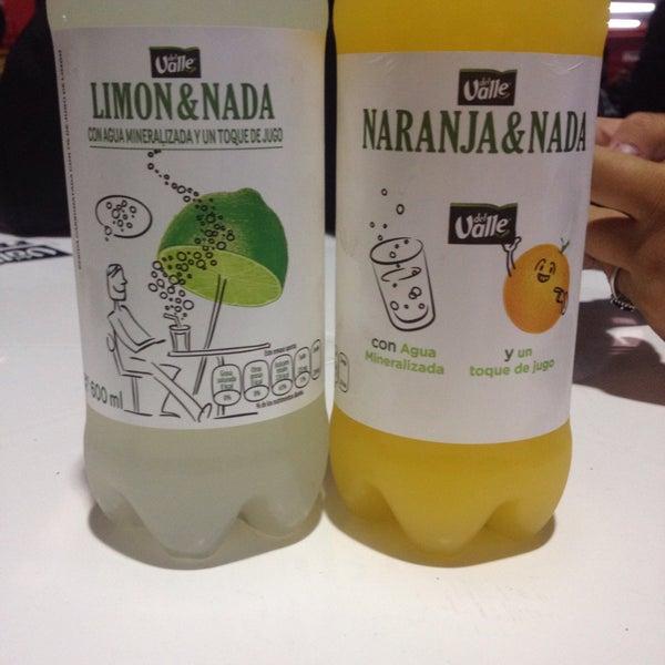 limon y nada del valle calorias