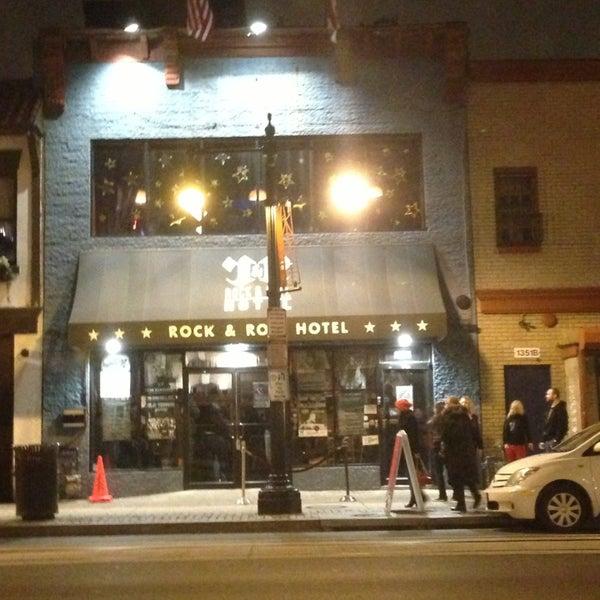 Foto scattata a Rock & Roll Hotel da Kevin S. il 1/24/2013