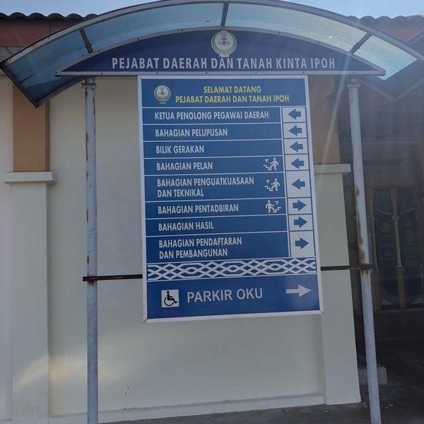 Pejabat Daerah Tanah Kinta Ipoh Government Building