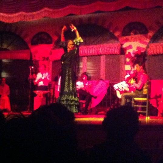 Foto tomada en Tablao Flamenco El Palacio Andaluz por Steffi L. el 10/17/2012