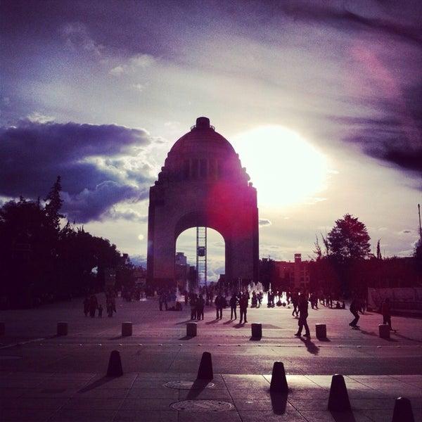 Foto tomada en Monumento a la Revolución Mexicana por Victor C. el 7/7/2013