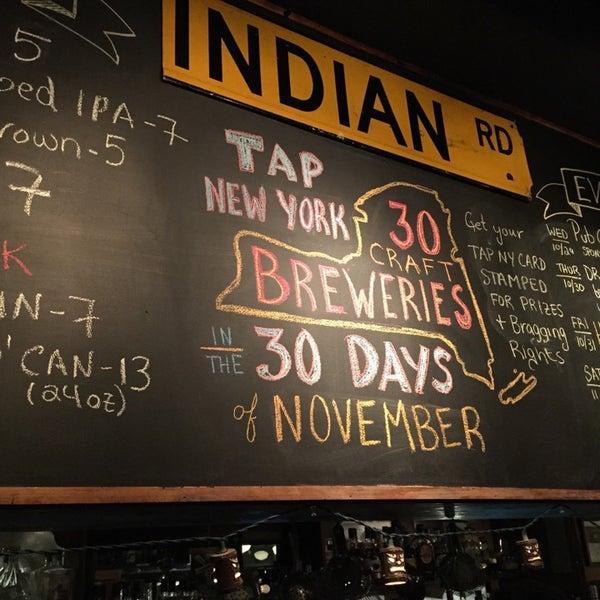 Das Foto wurde bei Indian Road Café von Doug L. am 11/2/2014 aufgenommen