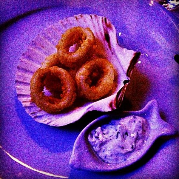 Deniz borulcesi,çerkez balığı ve ahtapot bir harikaydı! Sunum muhtesem