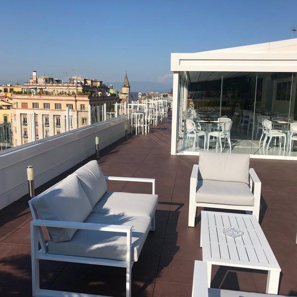 La Terrazza Del Re Restaurant In Napoli