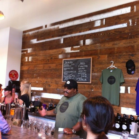 Photo taken at Union Craft Brewing by Robert T. on 9/22/2012