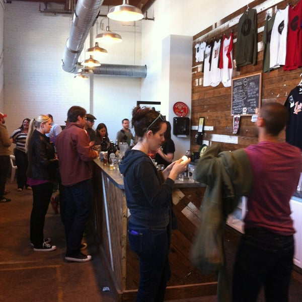 Photo taken at Union Craft Brewing by Robert T. on 4/6/2013