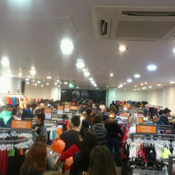 cb26a2edf7 Photo taken at Nike Factory Store by Pavlos C. on 2 15 2014