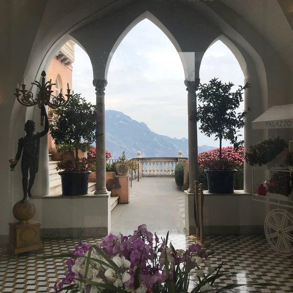 Foto diambil di Hotel Palazzo Avino oleh graceygoo pada 10/14/2018