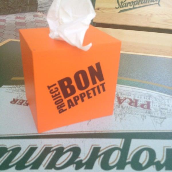 รูปภาพถ่ายที่ Café Bon Apрétit โดย Natalya K. เมื่อ 5/22/2013