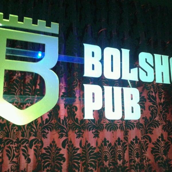 4/11/2013 tarihinde Jarinaziyaretçi tarafından Bolshoi Pub'de çekilen fotoğraf
