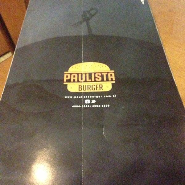 รูปภาพถ่ายที่ Paulista Burger โดย Ronaldo G. เมื่อ 7/5/2013