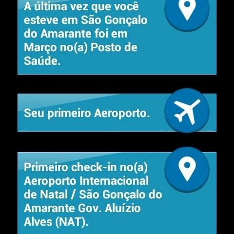 Снимок сделан в Aeroporto Internacional de Natal / São Gonçalo do Amarante (NAT) пользователем Josemar M. 7/13/2014