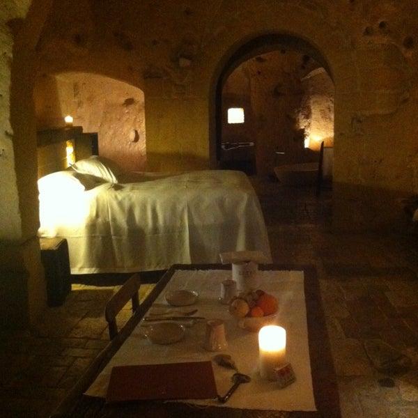 Foto tirada no(a) Sextantio | Le Grotte della Civita por Andrea A. em 12/26/2013