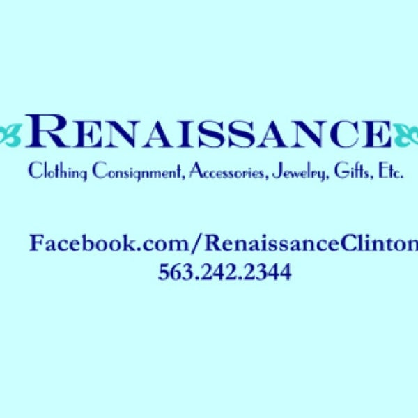 Renaissance Resale Boutique - Clinton, IA