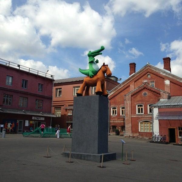 6/12/2013 tarihinde Алексей Е.ziyaretçi tarafından Winzavod'de çekilen fotoğraf