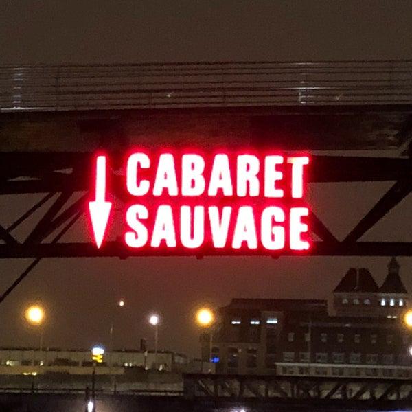 Снимок сделан в Cabaret Sauvage пользователем Bio75x☣️💦 2/11/2018